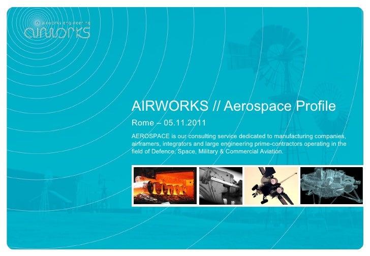 AIRWORKS // Aerospace Profile