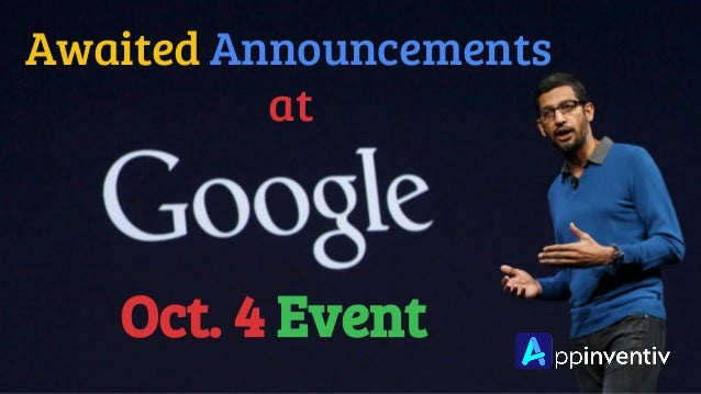 Oct. 4 Event Awaited Announcements at