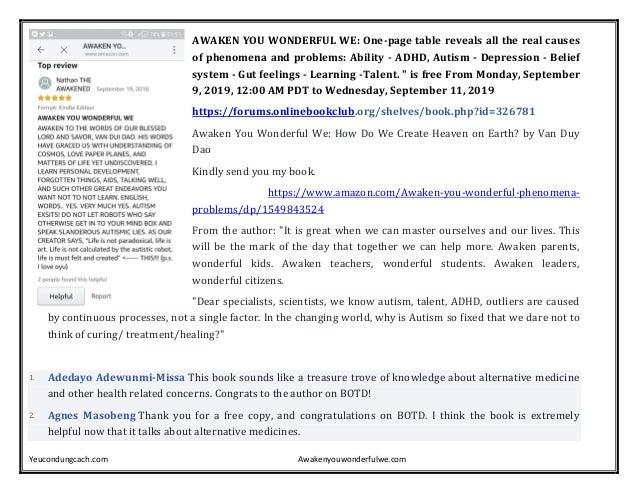 Yeucondungcach.com Awakenyouwonderfulwe.com AWAKEN YOU WONDERFUL WE: One-page table reveals all the real causes of phenome...