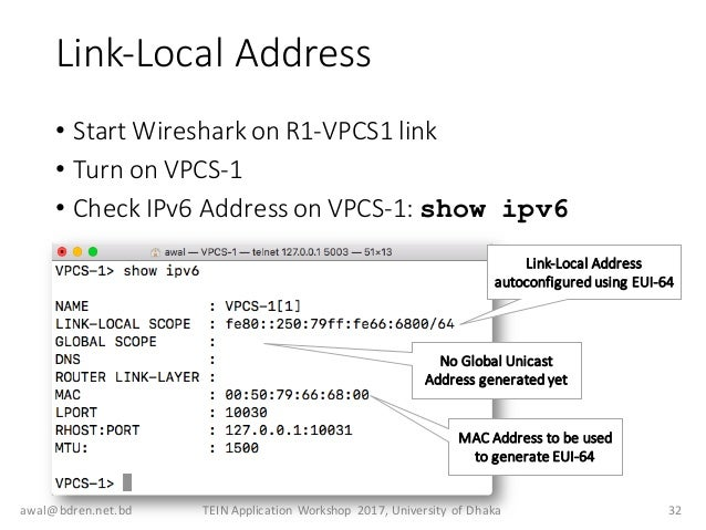 Ipv6 Addressing And Deployment Considerations