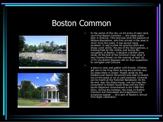 A walking tour of boston Slide 3