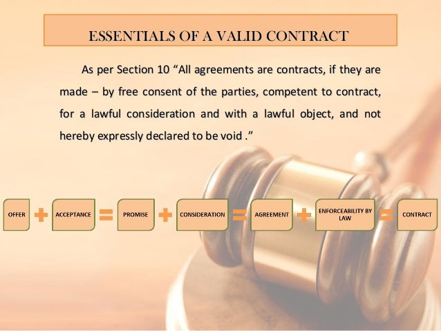 Contract And Agreement