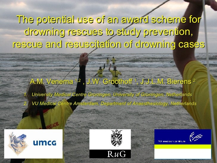 The potential use of an award   scheme for drowning rescues to study prevention, rescue and resuscitation of drowning case...