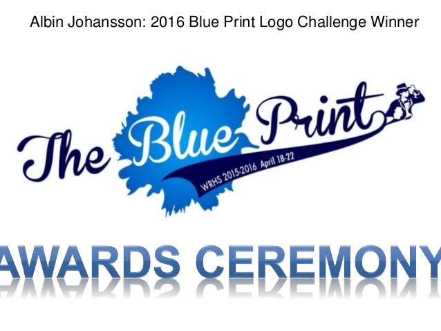 2016 washburn rural hs blueprint award ceremony slide show albin johansson 2016 blue print logo challenge winner malvernweather Image collections