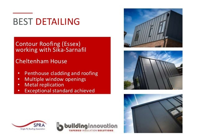 Single Ply Roofing Association Awards 2017