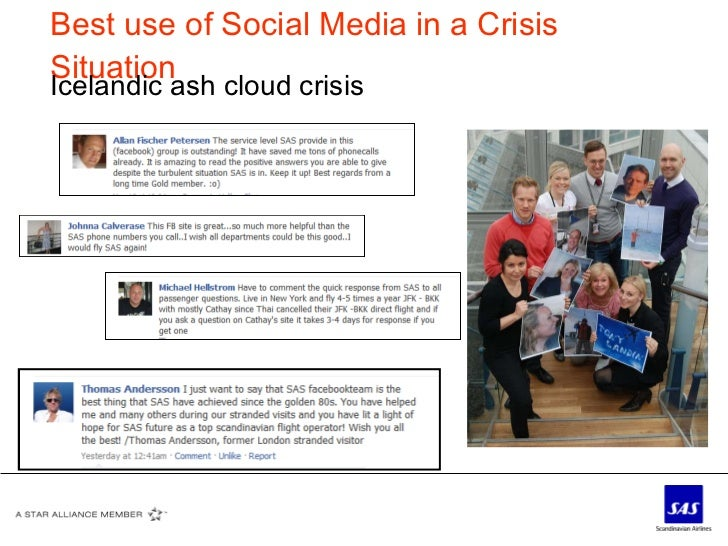 Best use of Social Media in a Crisis Situation Icelandic ash cloud crisis