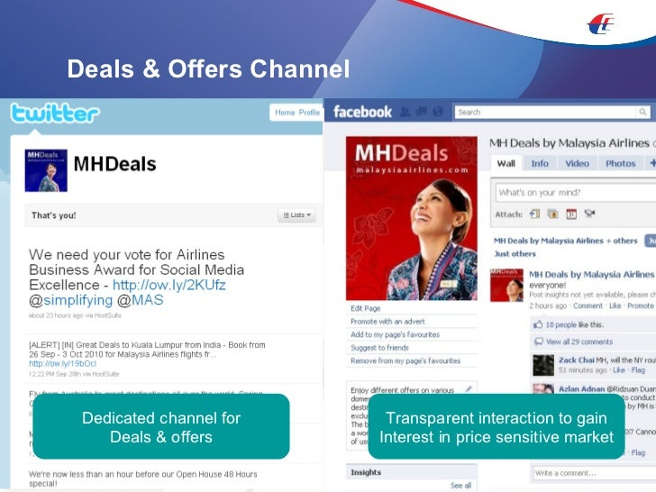 Deals & Offers Channel Transparent interaction to gain Interest in price sensitive market Dedicated channel for Deals & of...