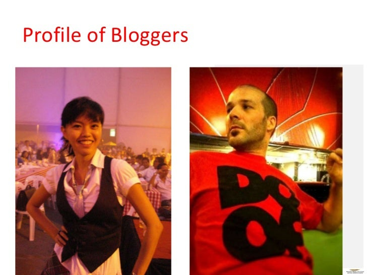 Profile of Bloggers