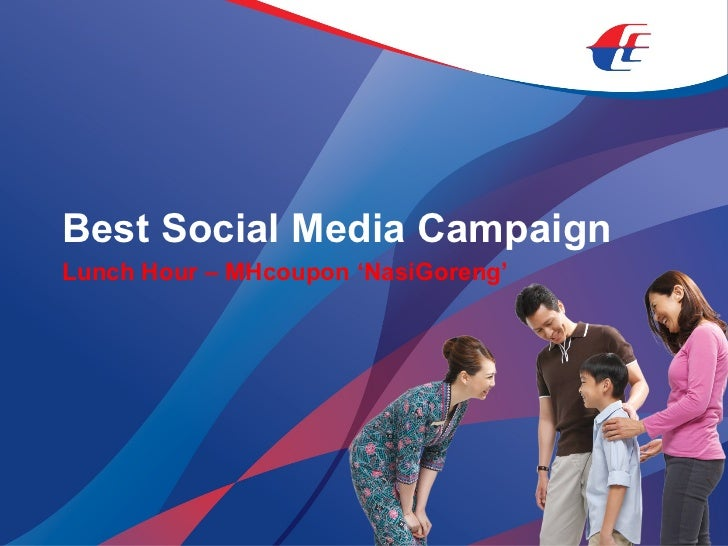 Best Social Media Campaign Lunch Hour – MHcoupon 'NasiGoreng'