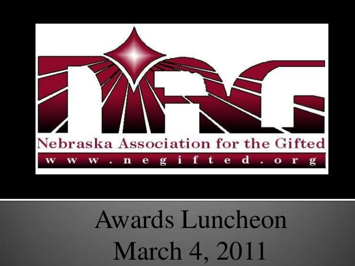 Awards Luncheon<br />March 4, 2011<br />