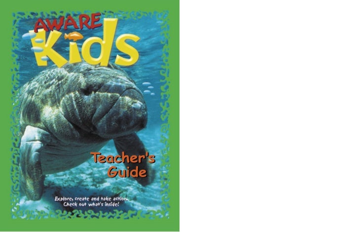 Teacher's Guide            Table of Contents              A Letter from Project AWARE Foundation . . . . . . . . . . . . ....