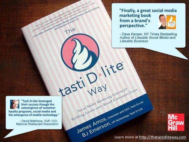 Learn more at http://thetastidliteway.com