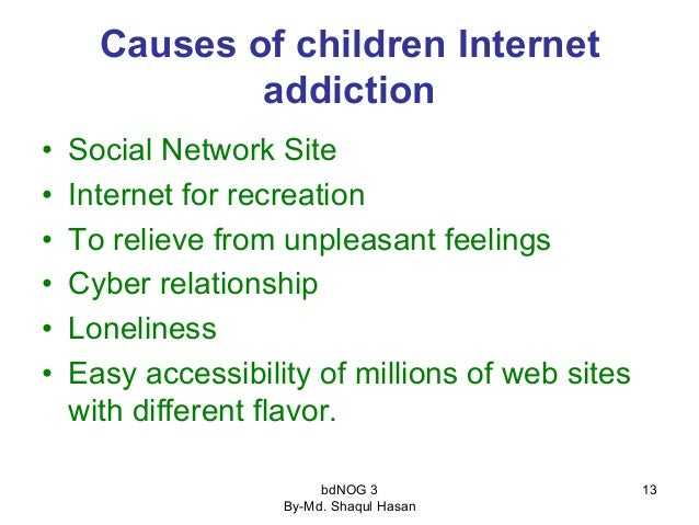 a research on internet addiction There are many studies about internet use and internet addiction and it  internet  addiction among the lower and upper secondary students of.