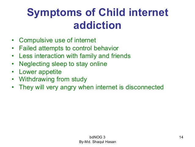 Awareness of Children Internet Addiction
