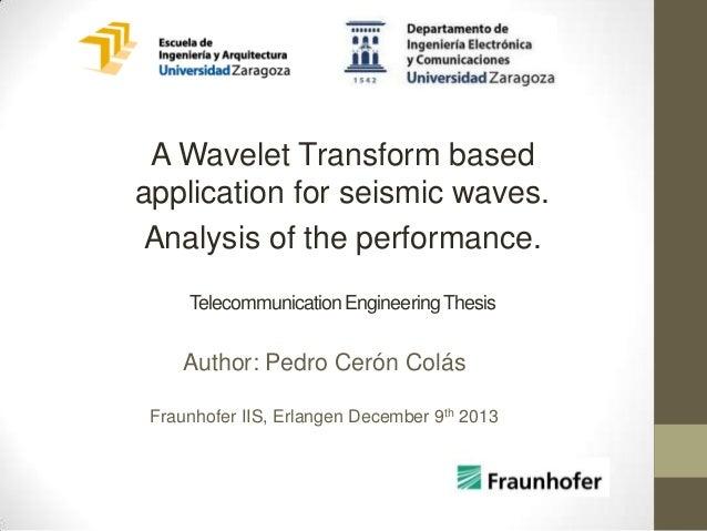 Seismic interpretation thesis