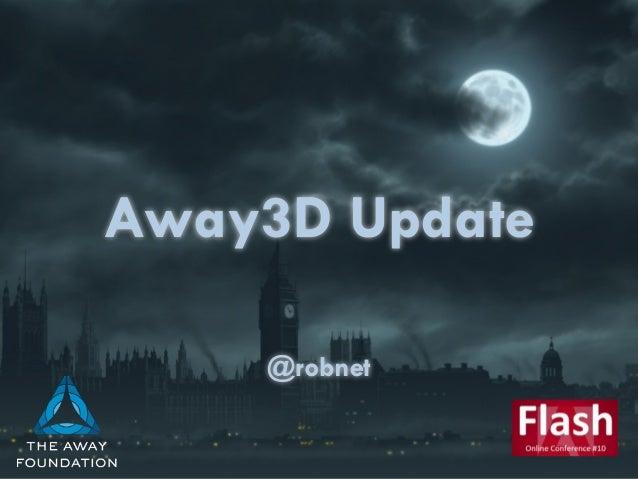 Away3D Update  @robnet