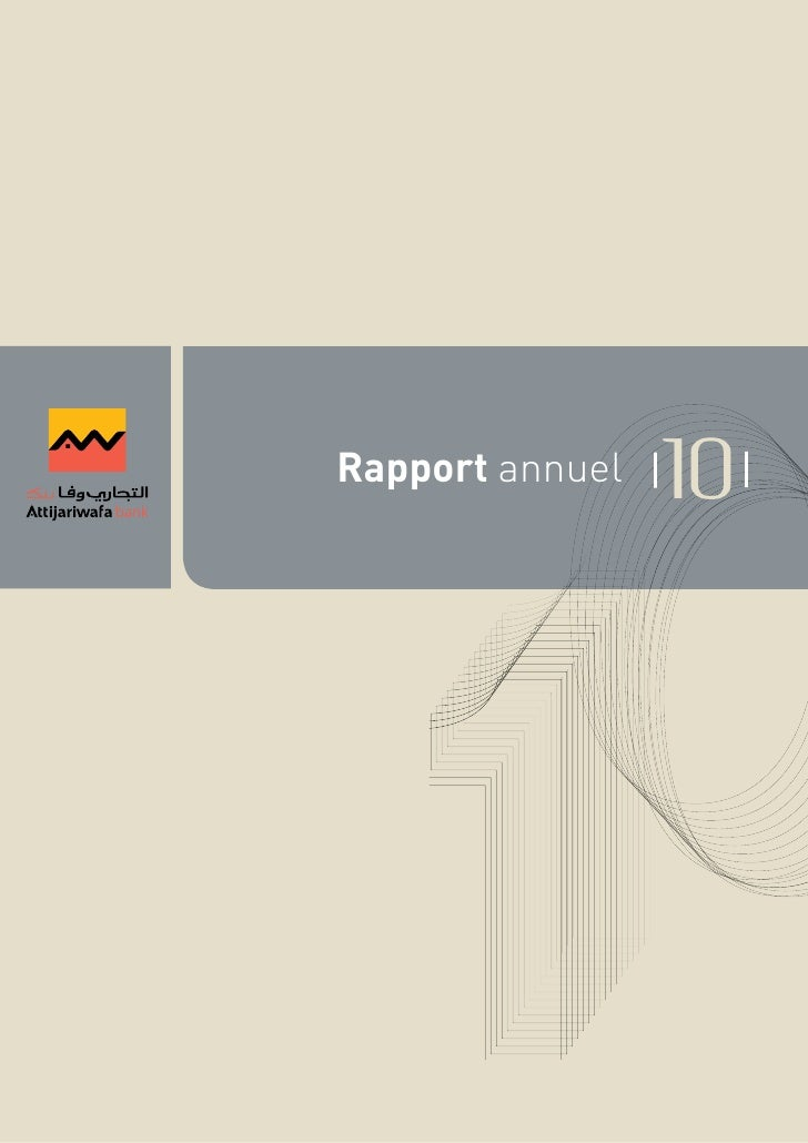 Rapport annuel   10