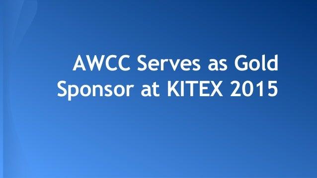 AWCC Serves as Gold Sponsor at KITEX 2015