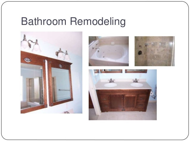Kitchen Remodeling; 3.