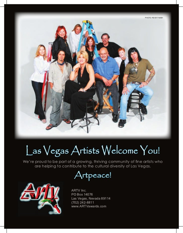 PHOTO: ROCKY NASH Las Vegas Artists Welcome You!We're proud to be part of a growing, thriving community of fine artists wh...