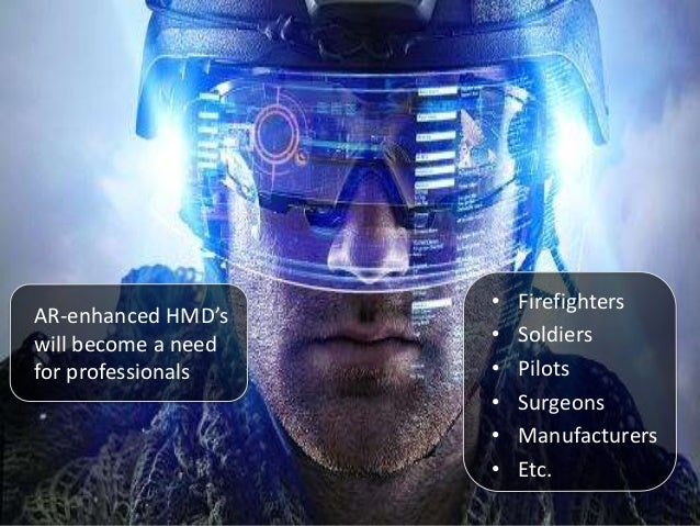 Video game-like HUD design for real world applications.