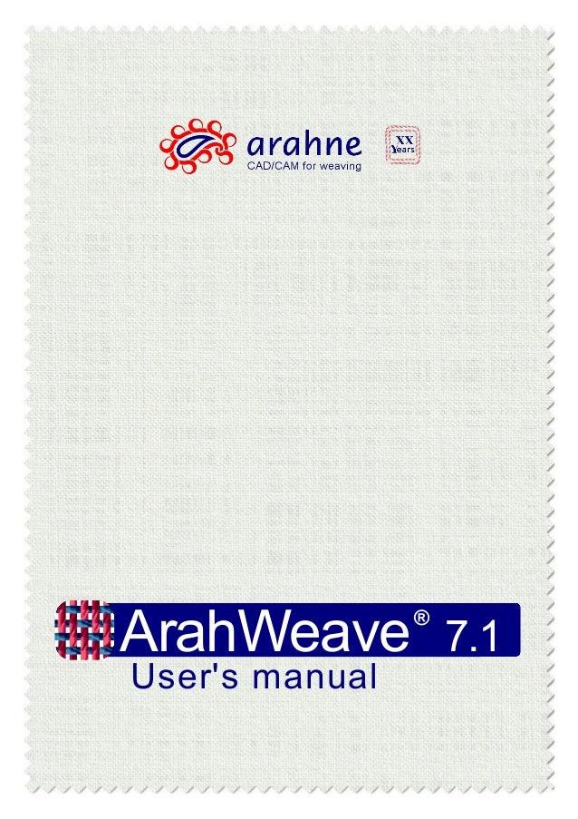 ArahWeave User\'s Manual