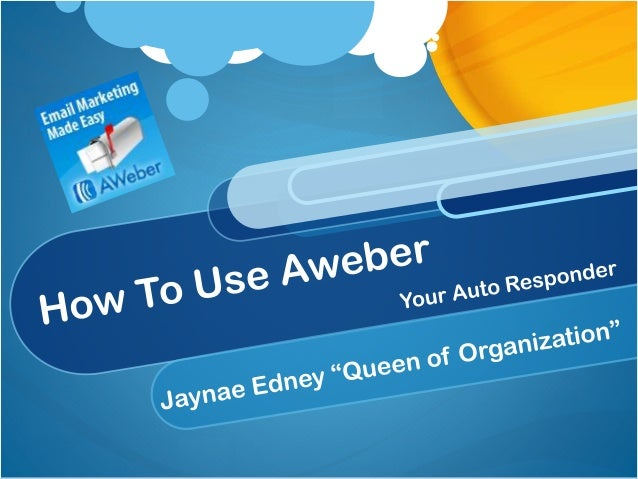 What is Aweber? Aweber is the most effective email marketing software that is out there right now. It is not the only one ...