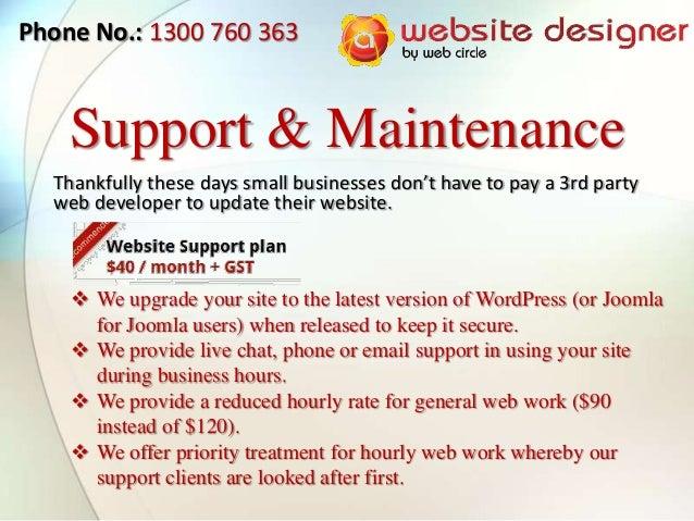 A Website Designer Services