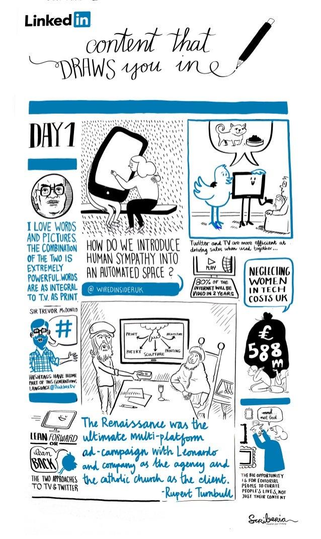 Advertising Week Europe Day 1 - #drawnIN