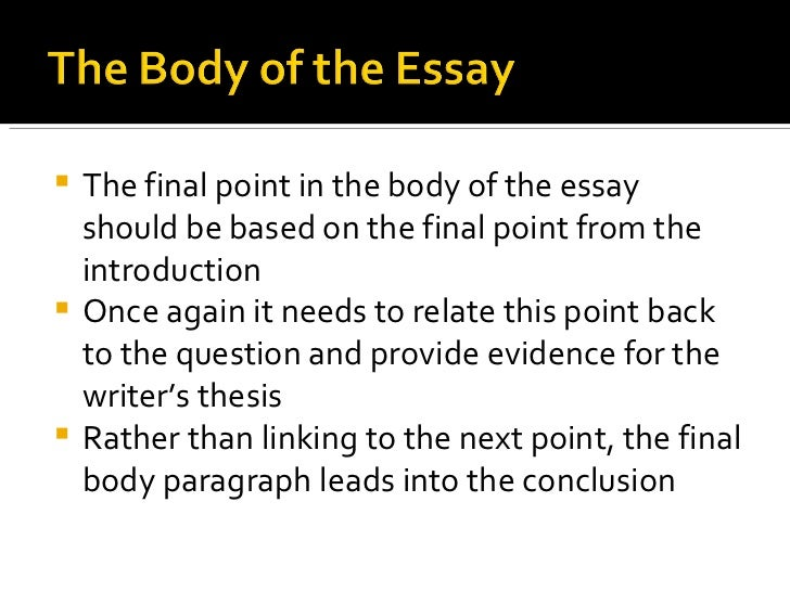 a thesis for an essay should An opinion essay exists to prove your main point – your thesis this should be clearly stated in your opening paragraph don't leave the reader to guess what your.