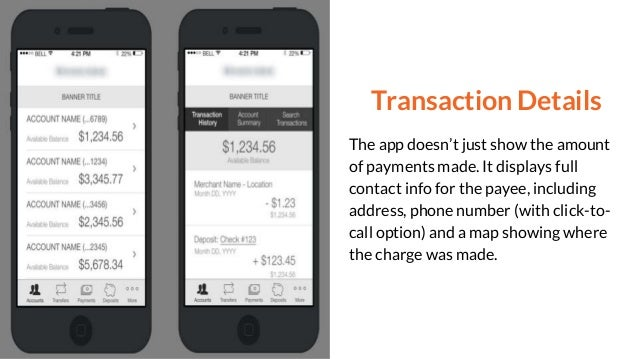Awesome Mobile Banking App Features