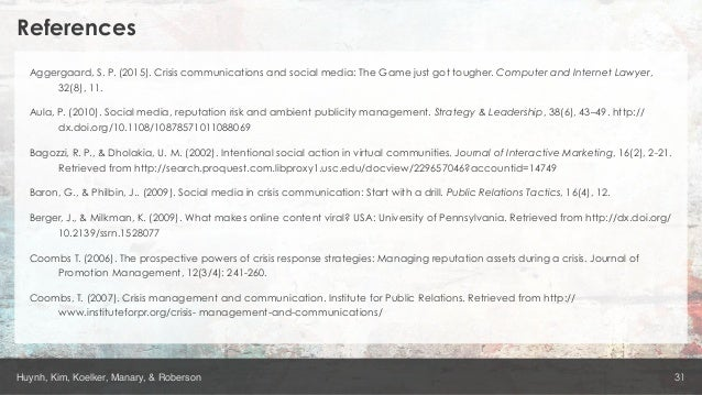 social media reputation risk and ambient publicity management pdf