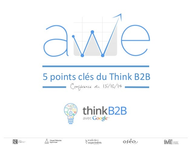 5 points clés du Think B2B