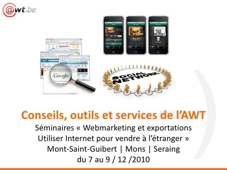 Internet et exportations (AWT)