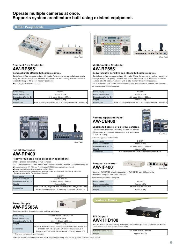 Panasonic AW-HE100E