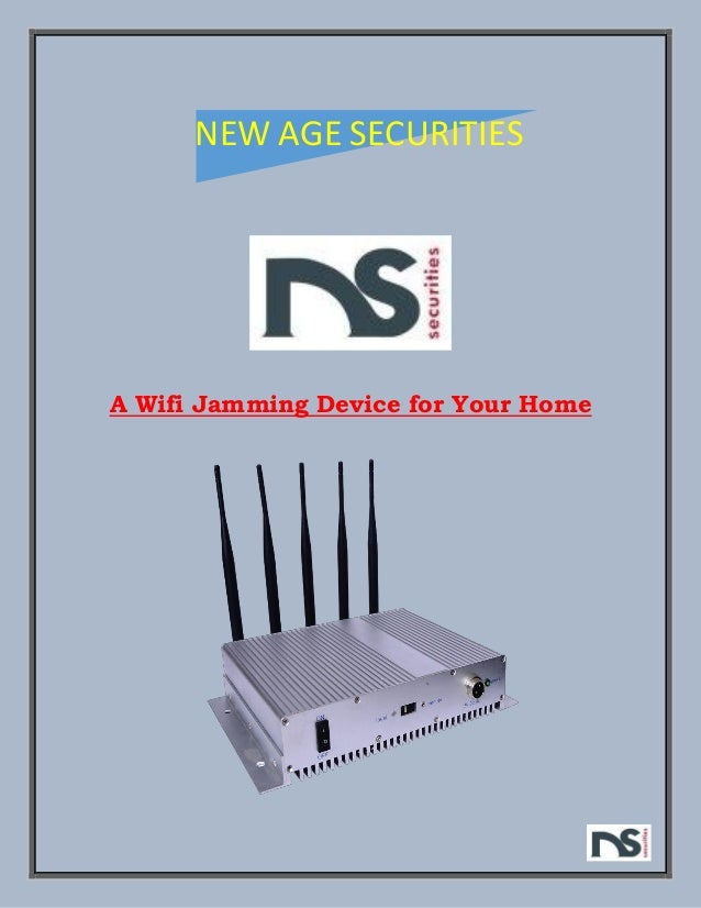 Wifi Jammer For Home