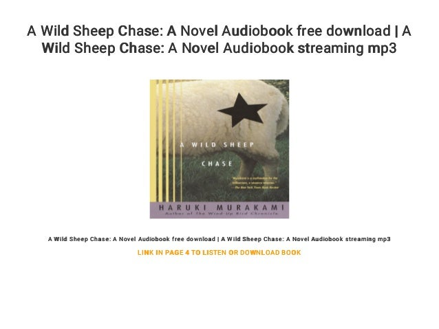 a wild sheep chase free download