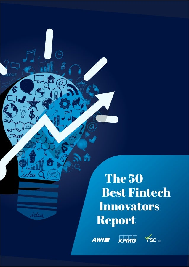 The 50 Best Fintech Innovators Report