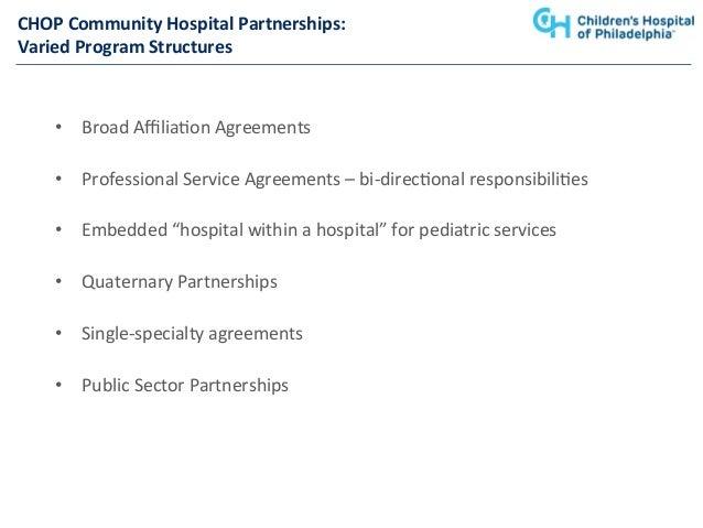A Winning Combination: Pediatric Partnerships that Work