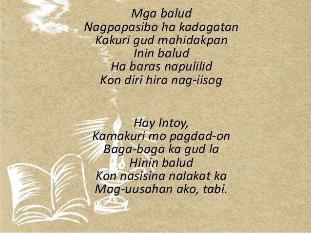awiting bayan examples