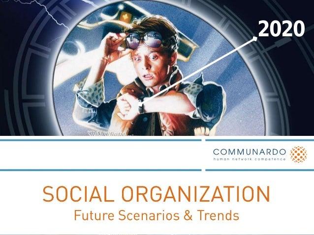 ORGANISATION  Prinzipien & Formen der Zusammenarbeit  2020  Transformation  Zusammenarbeit gemeinsam gestalten  © Communar...