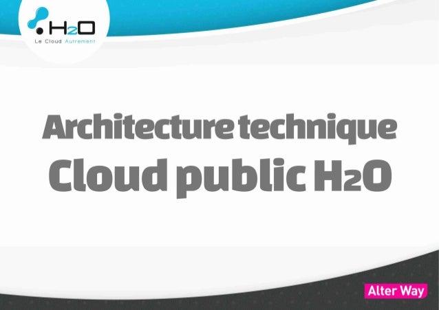 H2O, le Cloud par Alter Way