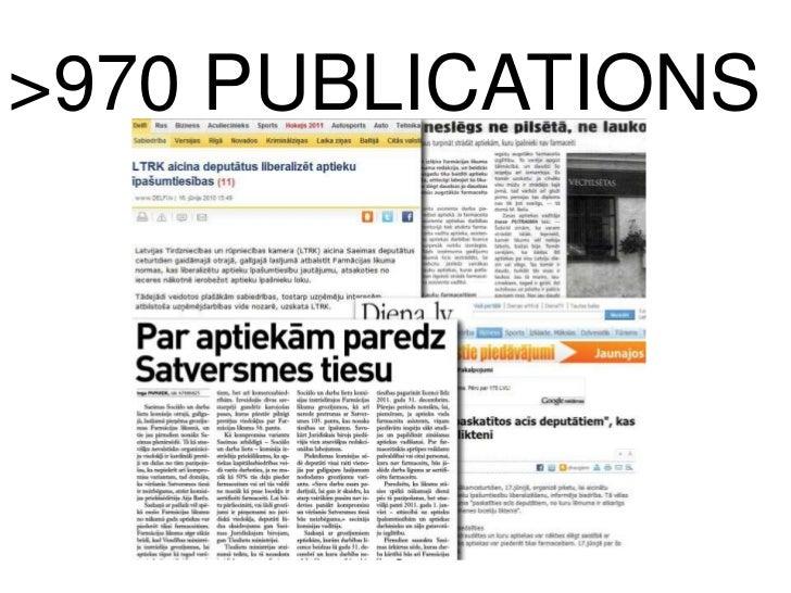 >970 PUBLICATIONS<br />