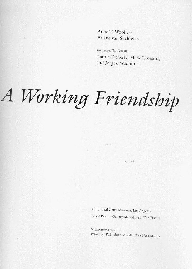A working friendship