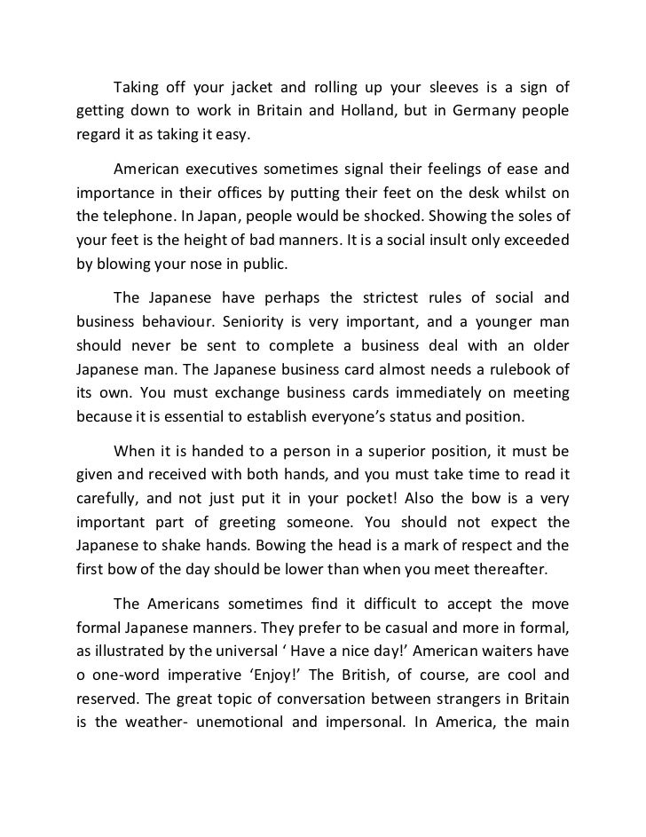 a world guide to good manners A world guide to good manners 1 a world guide to good mannershow not to behave badly abroad travelling to all corners of the world gets easier.