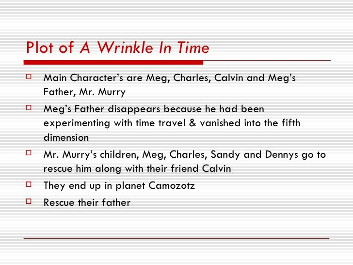 A Wrinkle In Time And Time Travel And Dimension