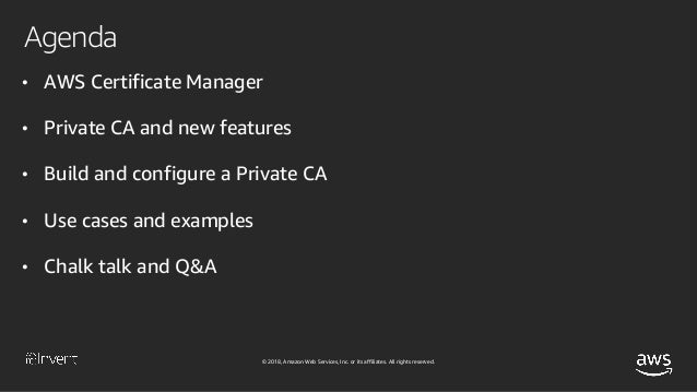 AWS Certificate Management and Private Certificate Authority Deep Div…