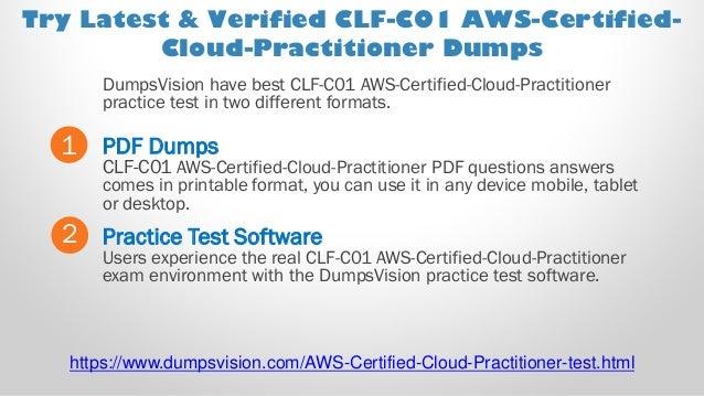 Aws certified cloud practitioner practice exam pdf | Amazon AWS