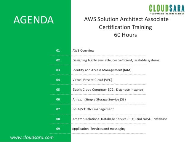 Aws certified-solutions-architect-associate-training