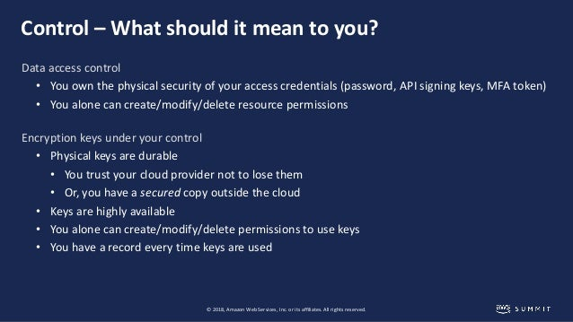 AWS Cryptography Services – Addressing your data security